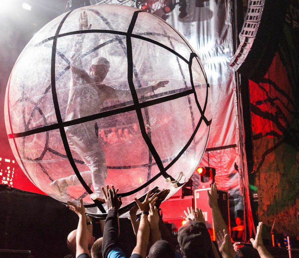 Diplo of American electronic music band Major Lazer performs during day 1 of Austin City Limits Music Festival held at Zilker Park on September 30, 2016 in Austin, Texas.
