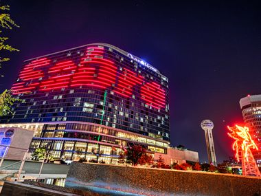 Southlake's Sabre Corp. hosted its Connect conference at the Omni Dallas Hotel several months ago. The company is ending pay cuts and furloughs, but reducing its workforce by 800.