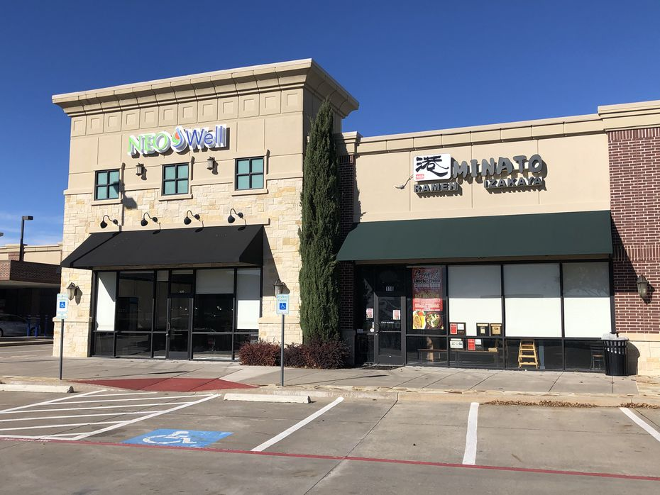 Uncle Zhou moved into a restaurant called Minato Ramen and Izakaya, at 8200 Preston Road in Plano.