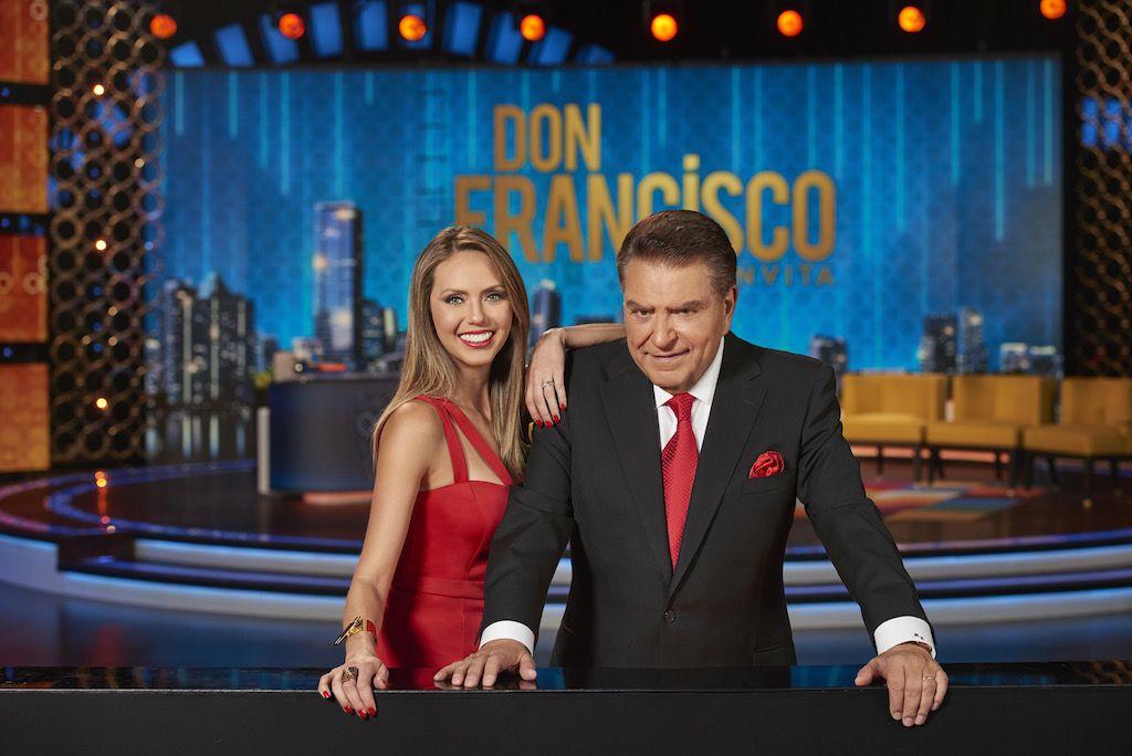 Don Francisco y Jessica Carrillo/ TELEMUNDO