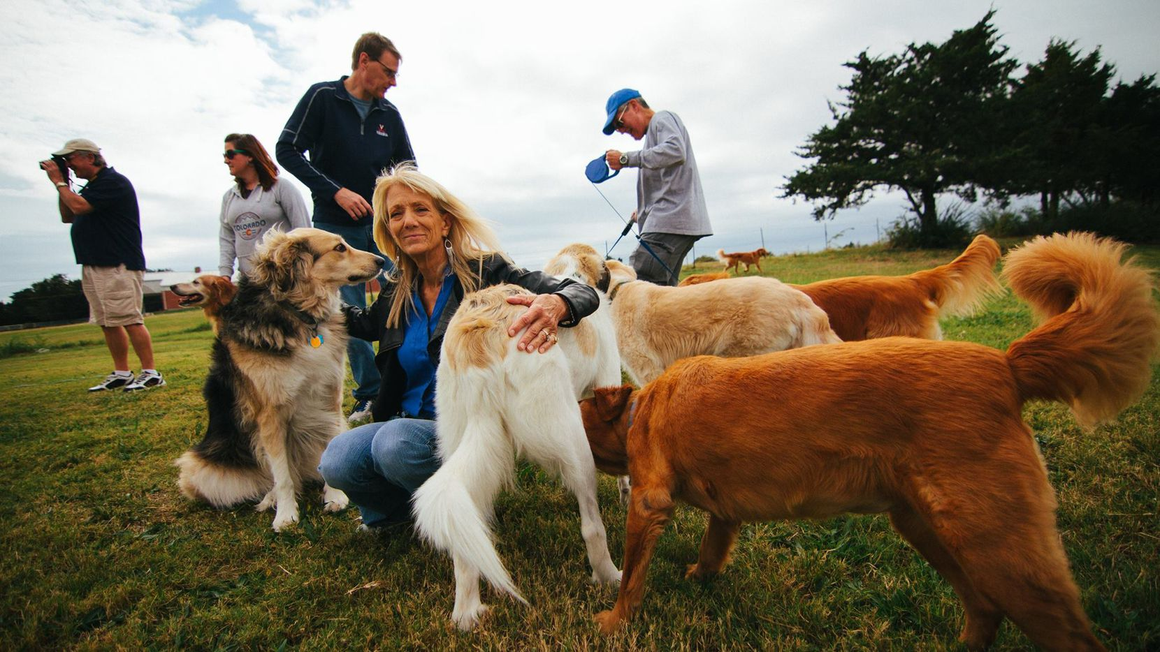 Golden Retriever Rescue of North Texas' fall picnic is from noon to 3 p.m. Saturday at Skyline Ranch. (2016 File Photo/GRRNT)