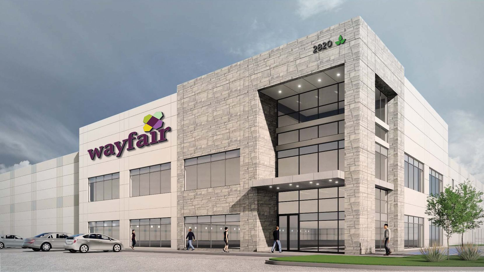 Wayfair is locating a new regional shipping hub in Lancaster.