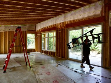 In Dallas-Fort Worth, immigrants accounted for about 70% of painters, maids and construction laborers, according to a new study. A worker shortage has added over $5,000 to the price of a new home and delayed completion by up to four months.