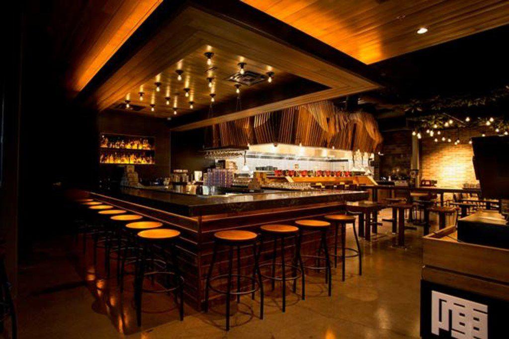 The bar at Jinya