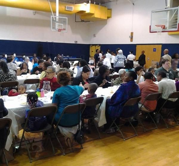 The Irving-Carrollton NAACP branch luncheon at Georgia Farrow Recreation Center honors the Rev. Martin Luther King Jr.