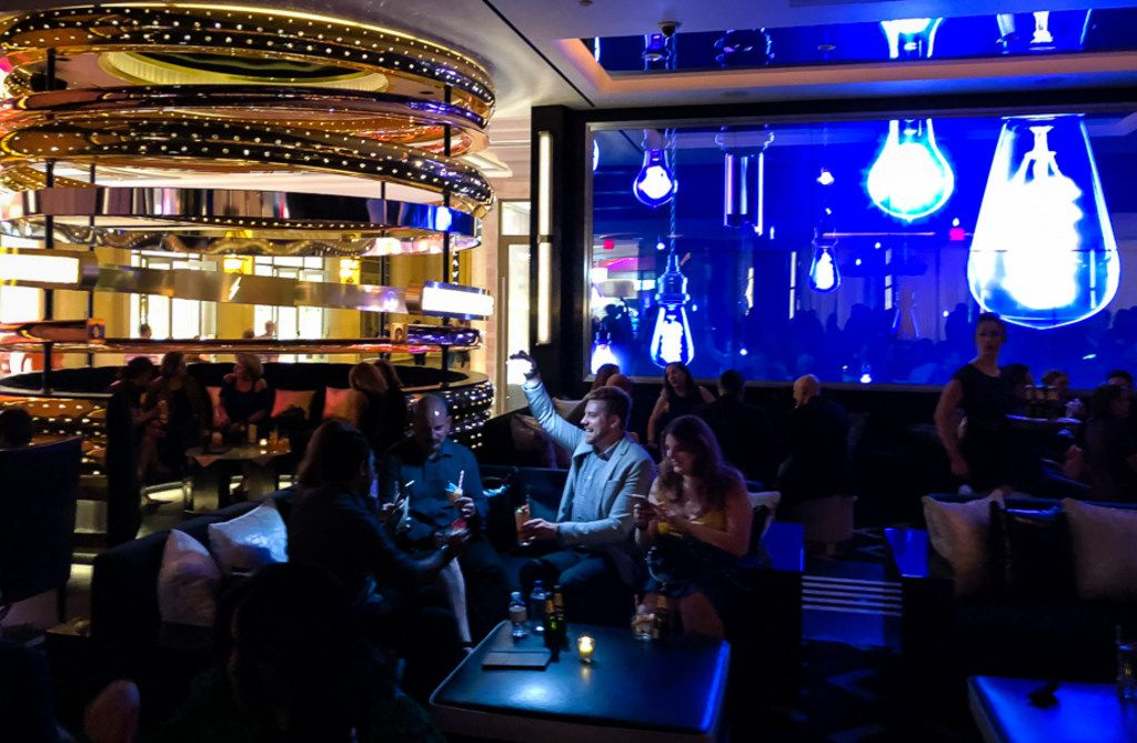 The Palazzo last month debuted Electra Cocktail Club in a choice casino floor space. Electra offers a high-energy cocktail experience with a custom drink menu and a 70-foot video wall that displays a choreographed sequence of art.