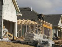 The first homes in the River Ridge community in Crandall will be ready in 2023.