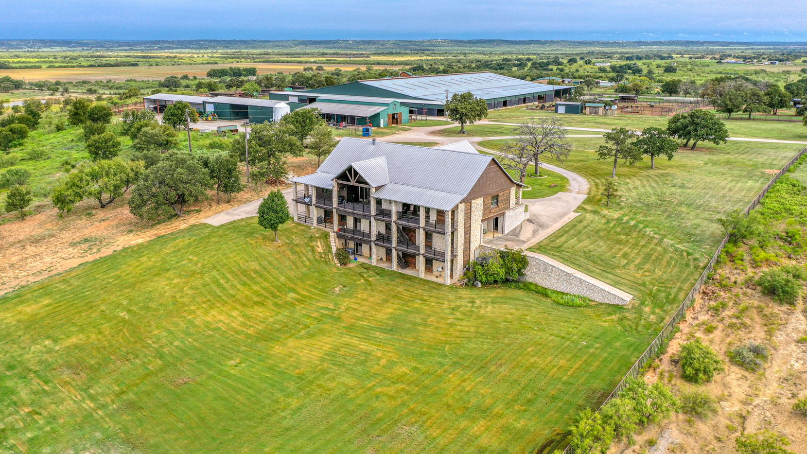 A look at the Robertson Hill Ranch in Perrin, Texas.