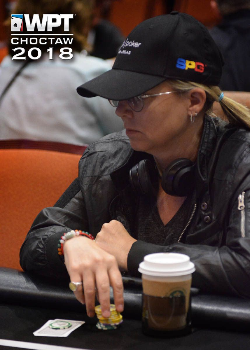 Juli Black at a World Poker Tour event last year