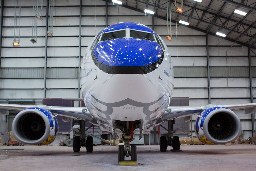 It's the 12th state-themed aircraft in Southwest's fleet.