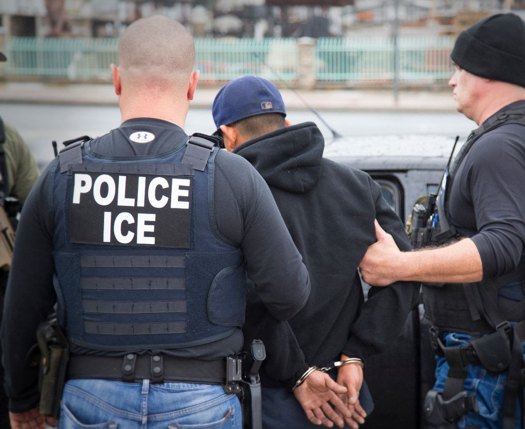 Foreign nationals were arrested during a targeted enforcement operation conducted by U.S. Immigration and Customs Enforcement aimed at immigration fugitives, re-entrants and at-large criminal aliens in Los Angeles.