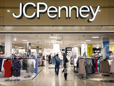 While the former Collin Creek Mall in Plano is closed and being redeveloped as mixed-use project, the J.C. Penney store remains open.