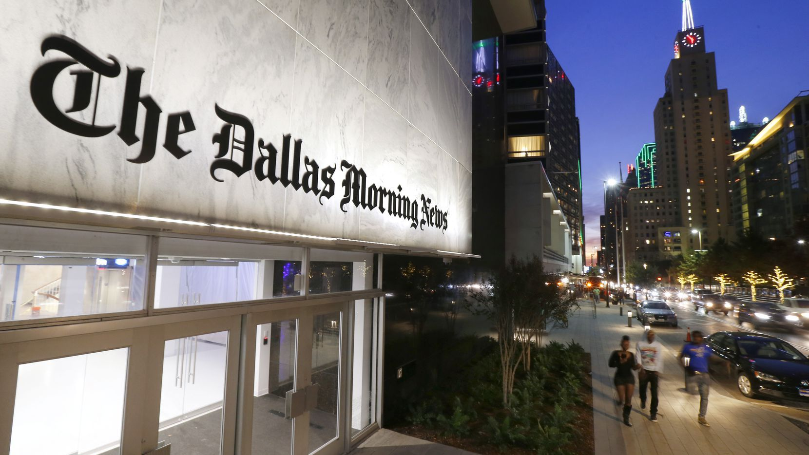 A. H. Belo Corporation will ask shareholders in May to approve changing its name to DallasNews Corporation.