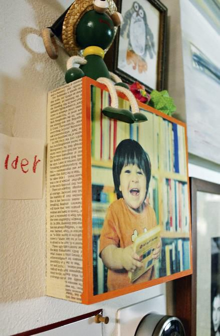 GESSO BOARD offers a new way to display favorite photos.
