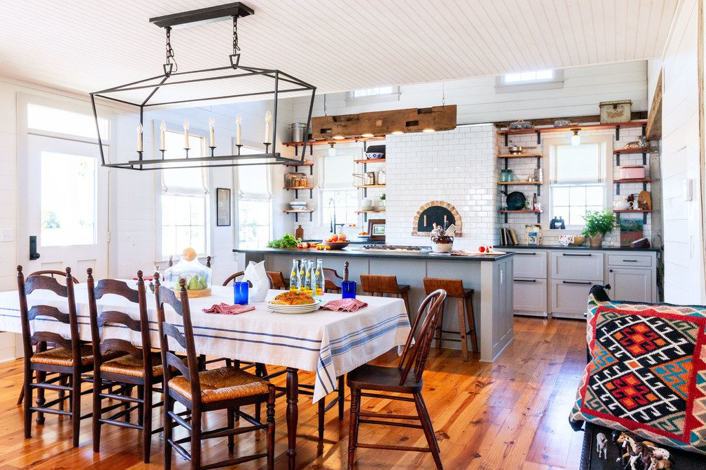Kitchens are a natural gathering spot, so make sure to leave room for people, says Tara Lenney.