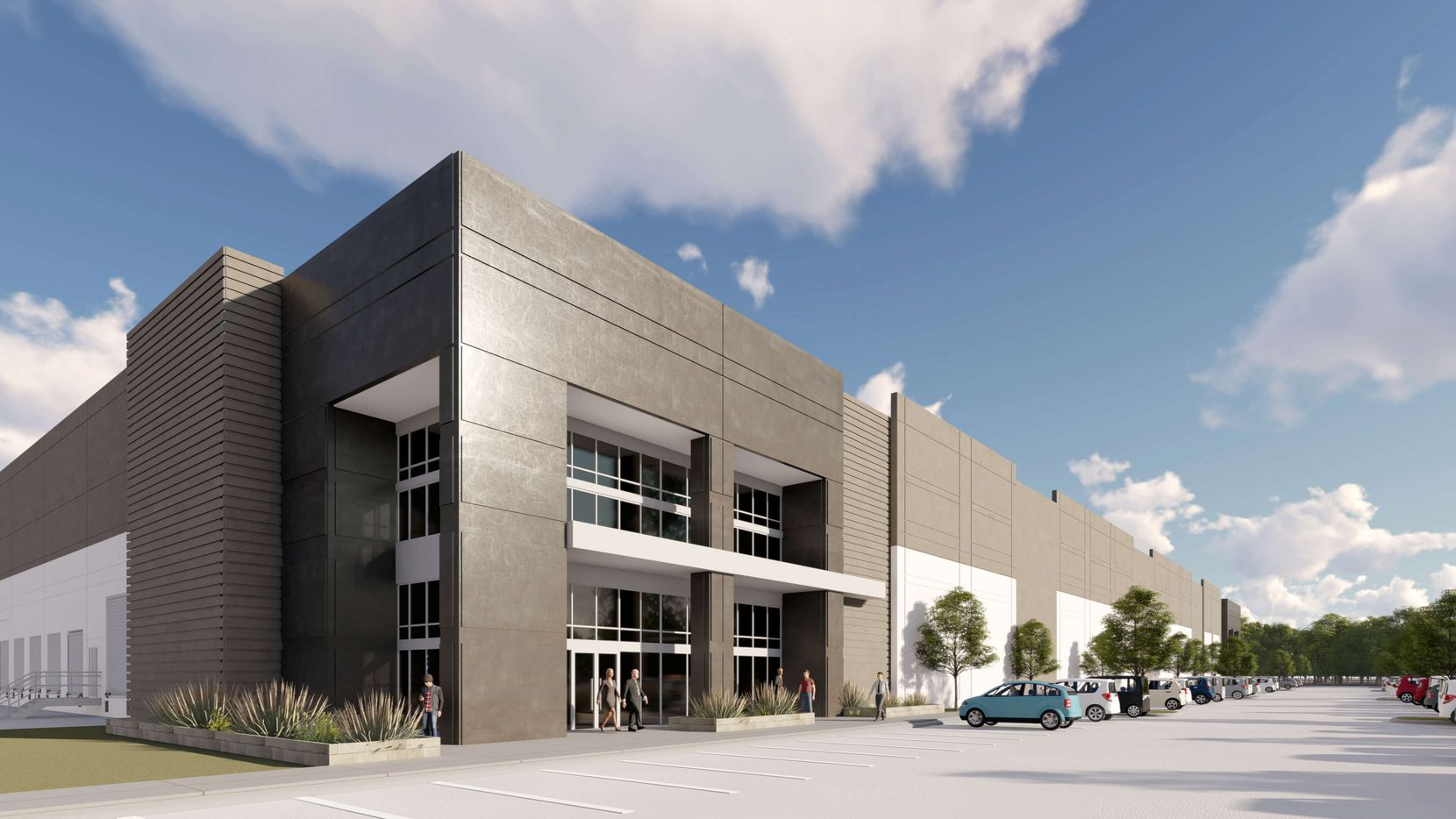 Dallas-based Urban Logistics Realty plans the project with five buildings.