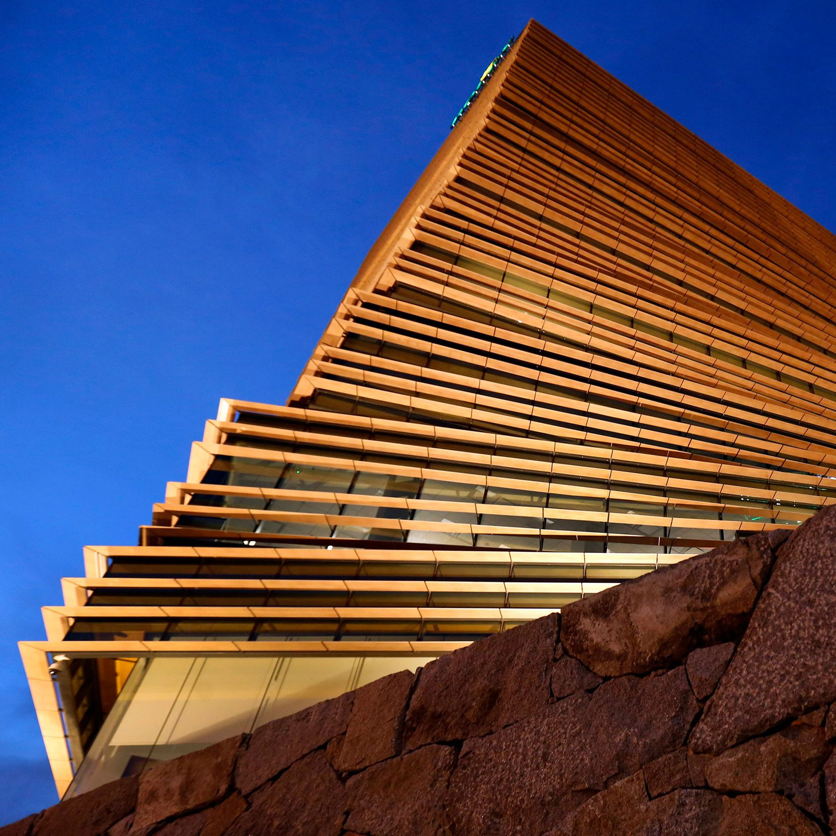 Kengo Kuma's spiraling Rolex Tower is the most sophisticated tall building to go up in Dallas since Fountain Place.