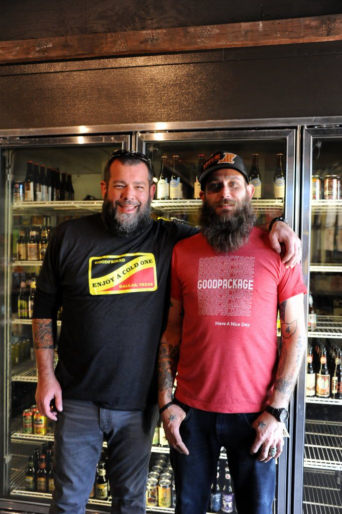Matt Tobin and Josh Yingling have big plans for the East Dallas neighborhood where they own two businesses -- a  burger and beer joint, and most recently, a sandwich shop with beer and wine to-go.