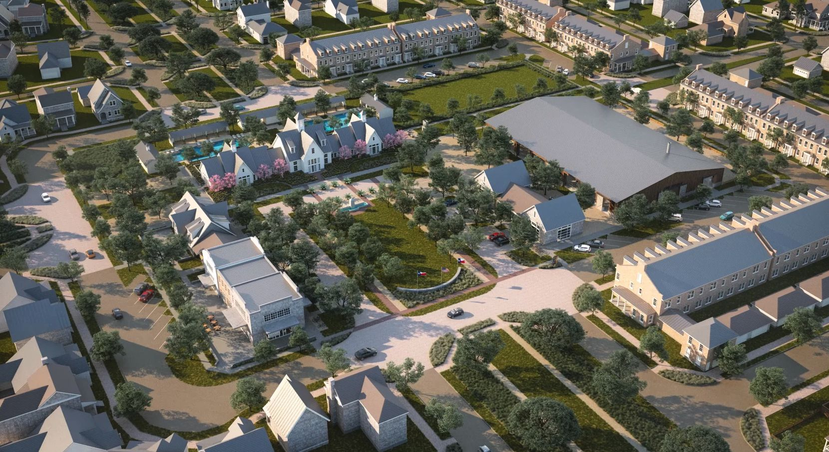 Hillwood Communities' new Pecan Square community in Northlake will have more than 3,000 homes.