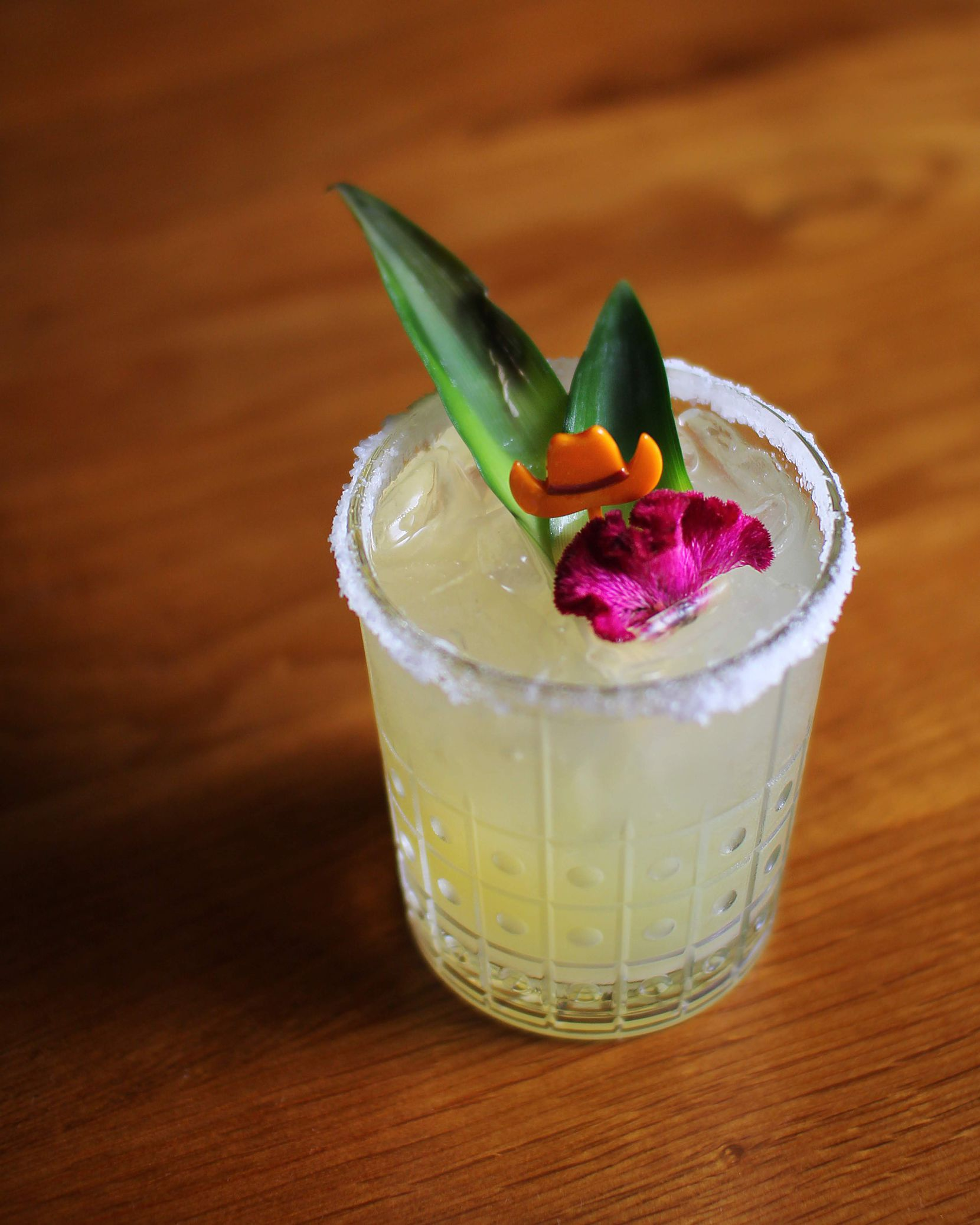 Dean s Signature Margarita, $22, is available at Fearing's Restaurant and Rattlesnake Bar at the Ritz Carlton, Dallas.