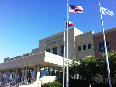 File photo of the Collin County Courthouse