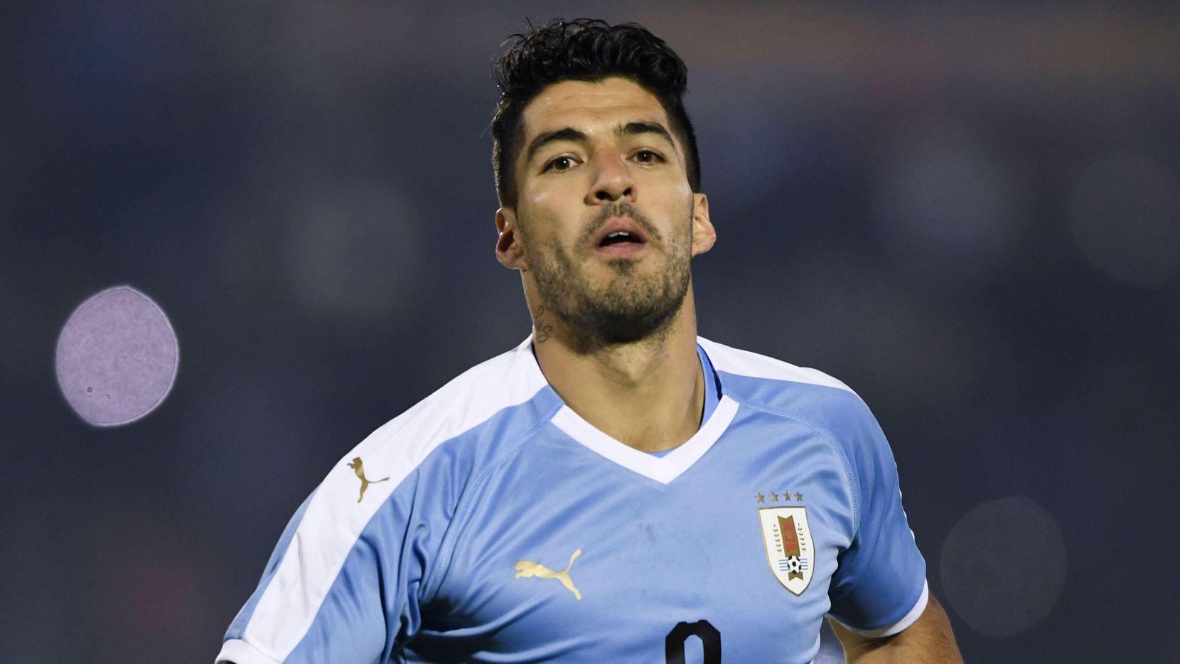 Luis Suárez y la selección de Uruguay son fuertes candidatos para ganar la Copa América de Brasil. (AFP/Getty Images/PABLO PORCIUNCULA BRUNE)