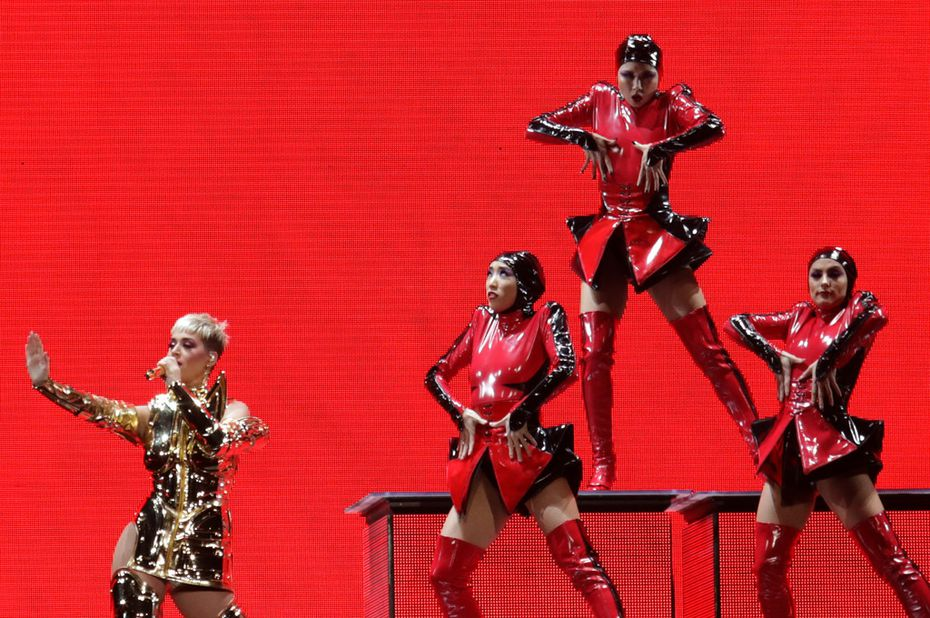 The costumes were impressive during Katy Perry's Dallas concert.