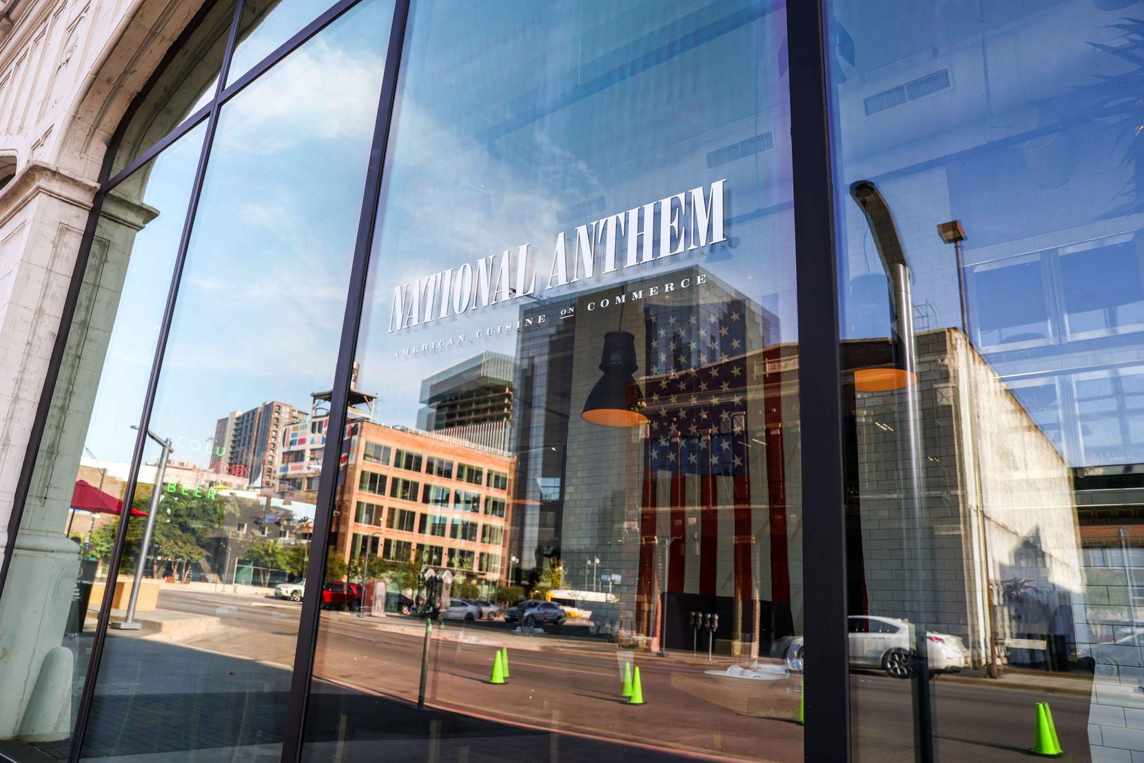 The historic building where National Anthem is once sat in the middle of Automobile Row in downtown Dallas. Now it's in the heart of the East Quarter, an area Todd Interests has been revitalizing since 2018.