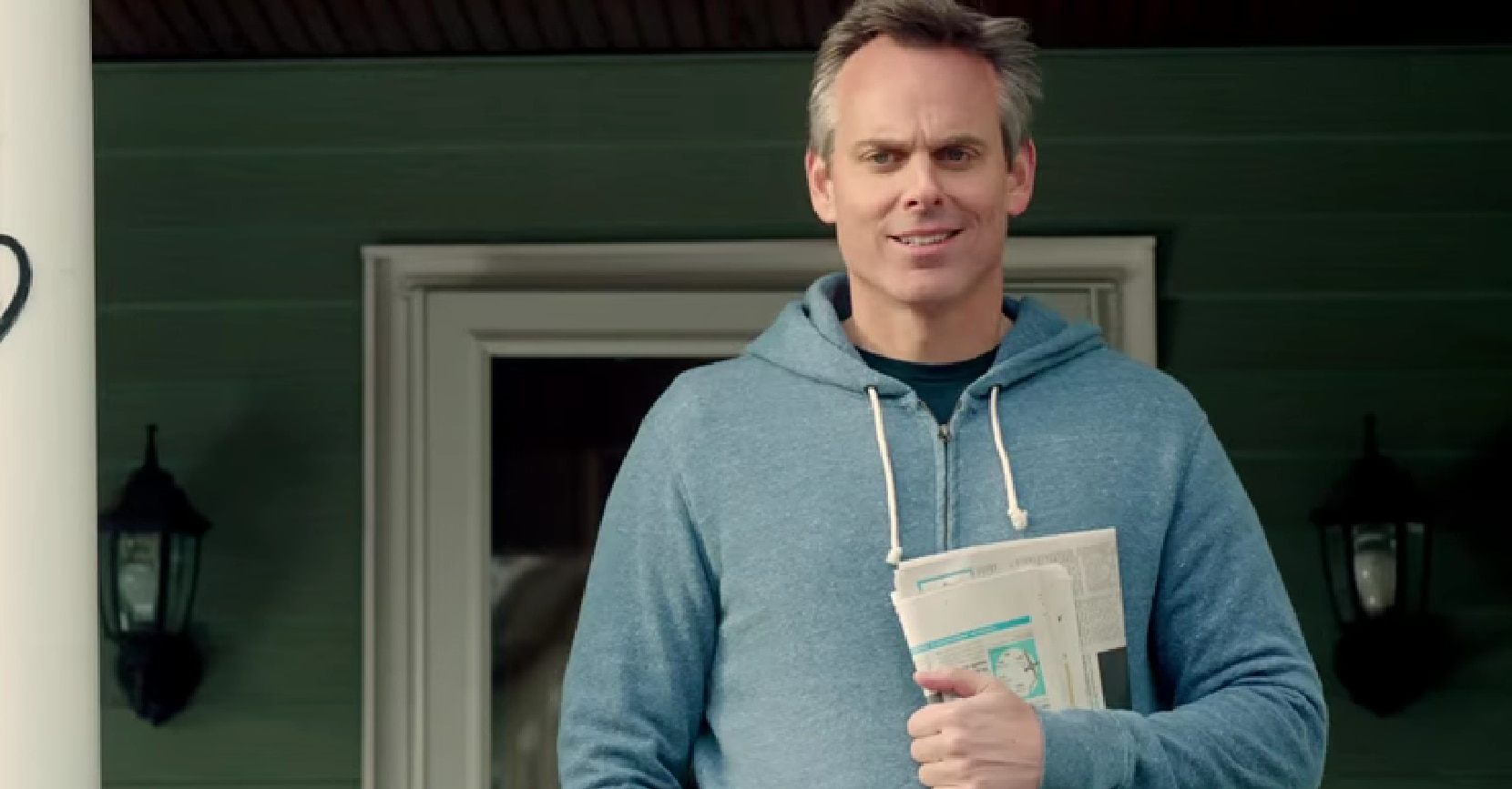 A screencap of Colin Cowherd from a 2013 ESPN Radio commercial.