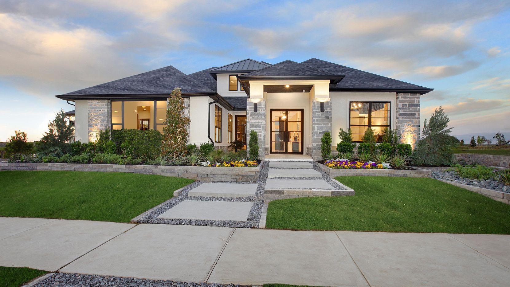 Award-winning Drees Custom Homes has opened the Lauren II model in Legacy Gardens, a master-planned community in Prosper.