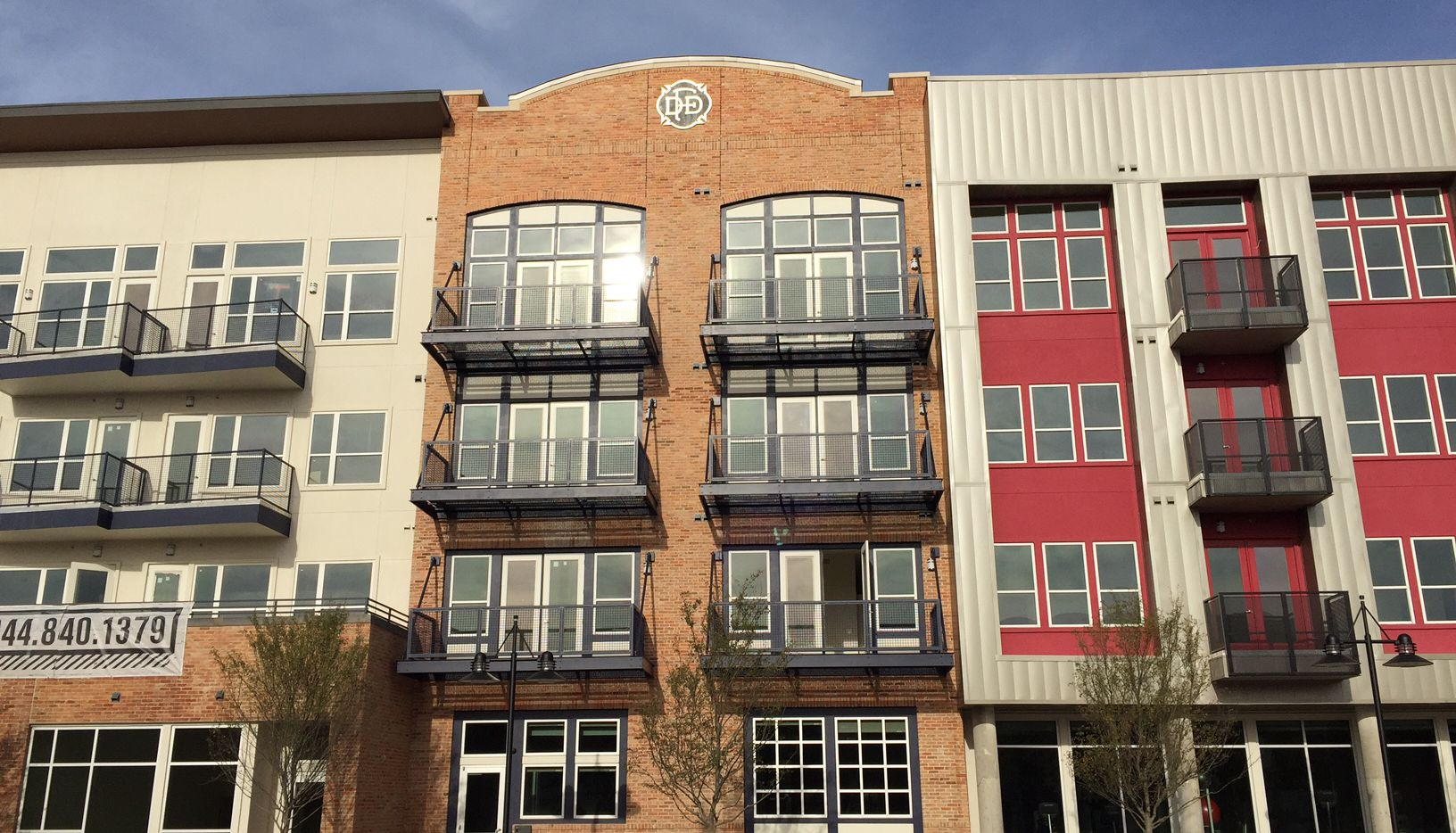 The South Side Flats by Jefferson opened last year just block from downtown Dallas.