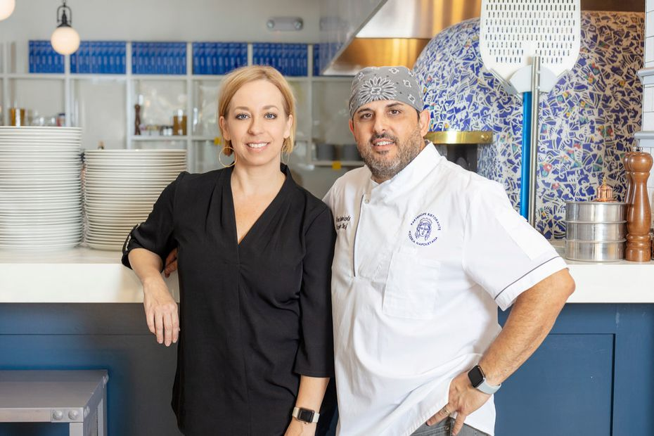 Husband and wife Dino Santonicola and Megan Santonicola are the co-owners of Partenope Ristorante, an Italian restaurant that opened in September 2019.