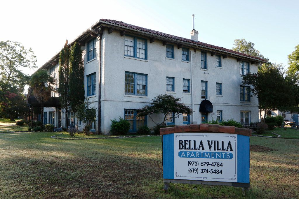 Dallas' Landmark Commission approved initiating proceedings to designate the 1927 Bella Villa apartment complex as a historic landmark.