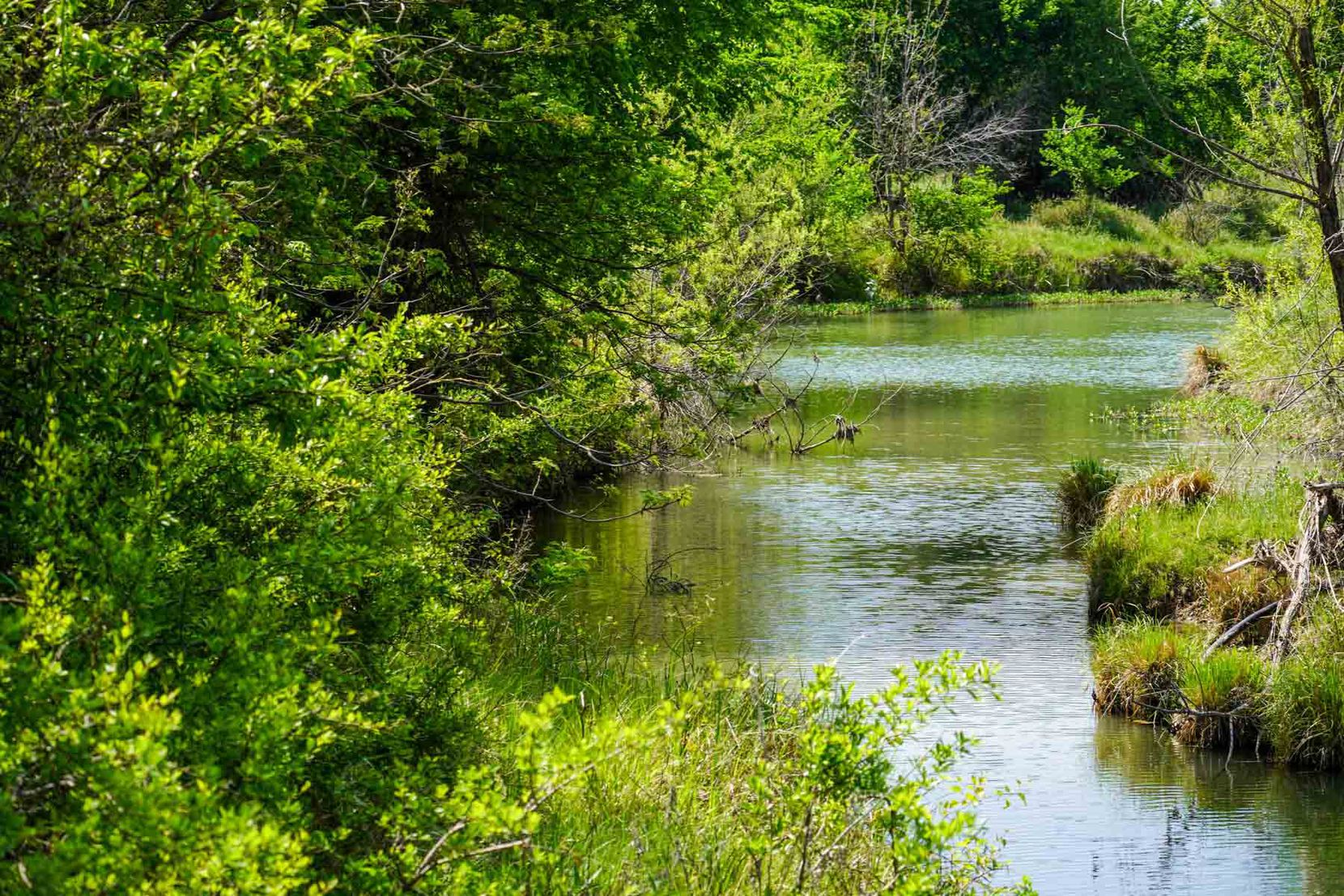 The ranch includes miles of frontage on the Clear Fork of the Brazos River.