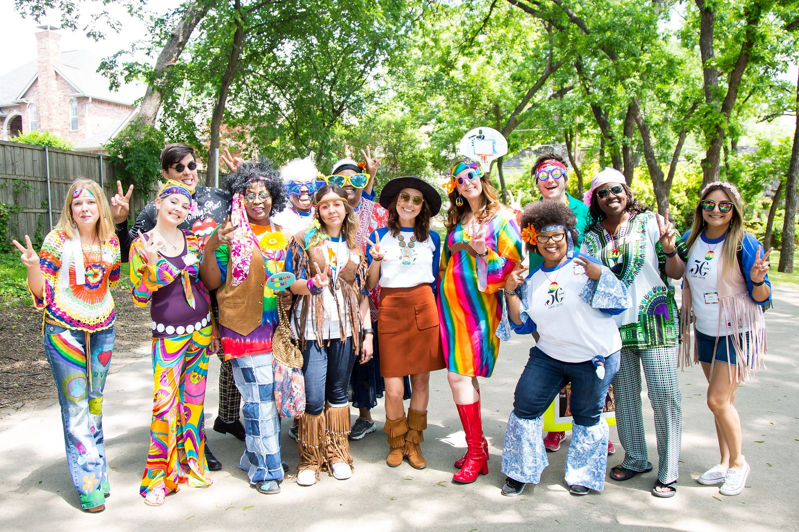GPA celebrated its 50-year anniversary with a '70s theme.