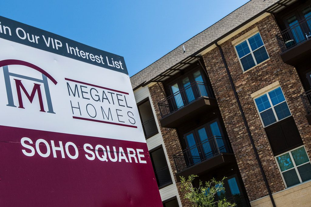 Megatel Homes is building the SoHo Square community at Borger and Duluth streets in West Dallas.