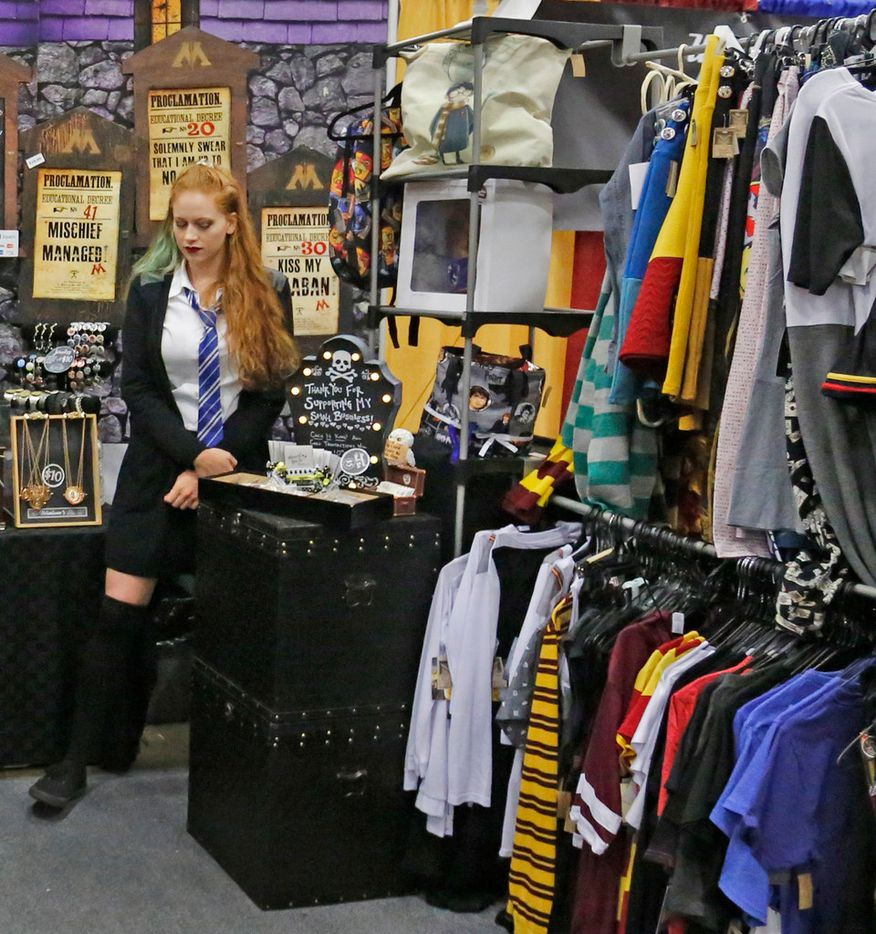 A variety of apparel was available at LeakyCon.