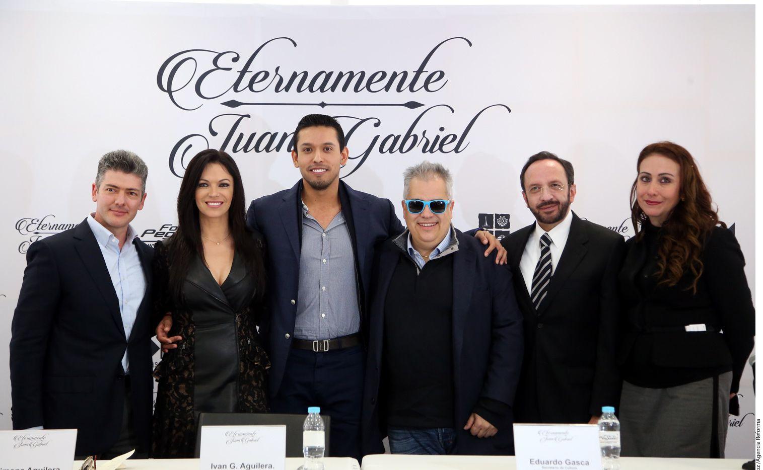 Juanes, Jesse y Joy, Natalia Lafourcade, Yuri y Shaila Dúrcal participarán en el concierto en honor a Juan Gabriel, que será el 18 de febrero en el Foro Pegaso. Foto AGENCIA REFORMA