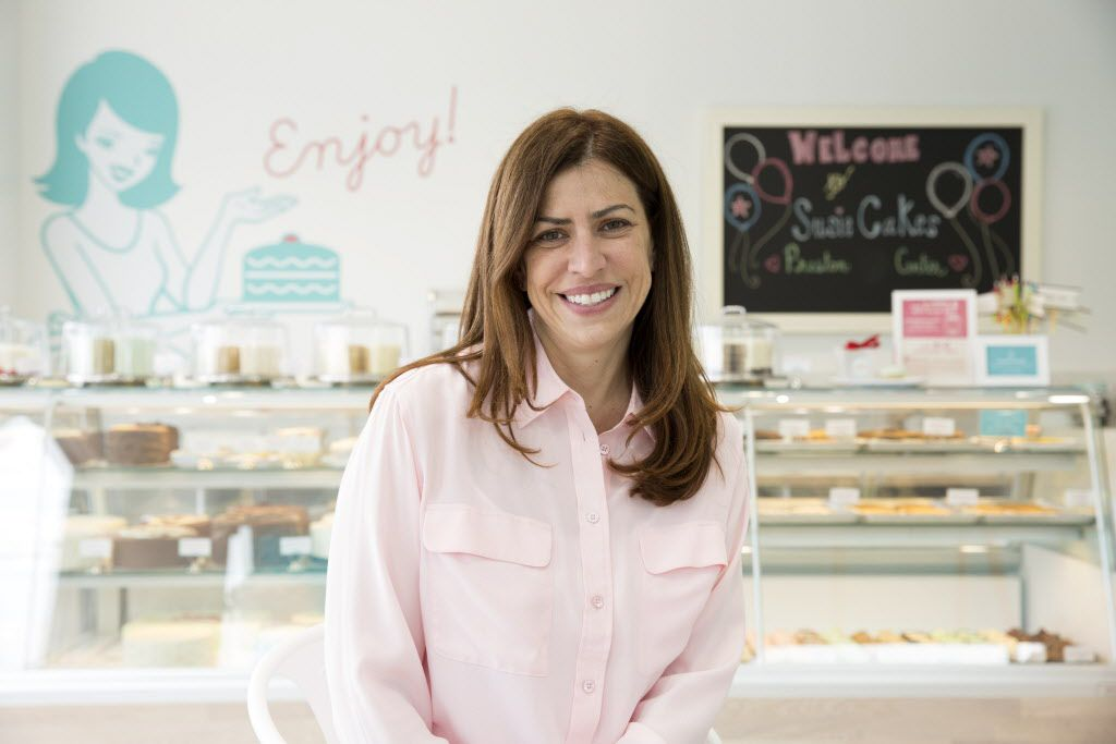 SusieCakes founder, Susan Sarich, prepares to open her shop in Dallas, Texas, Tuesday, April 12, 2016. (Allison Slomowitz/ Special Contributor)