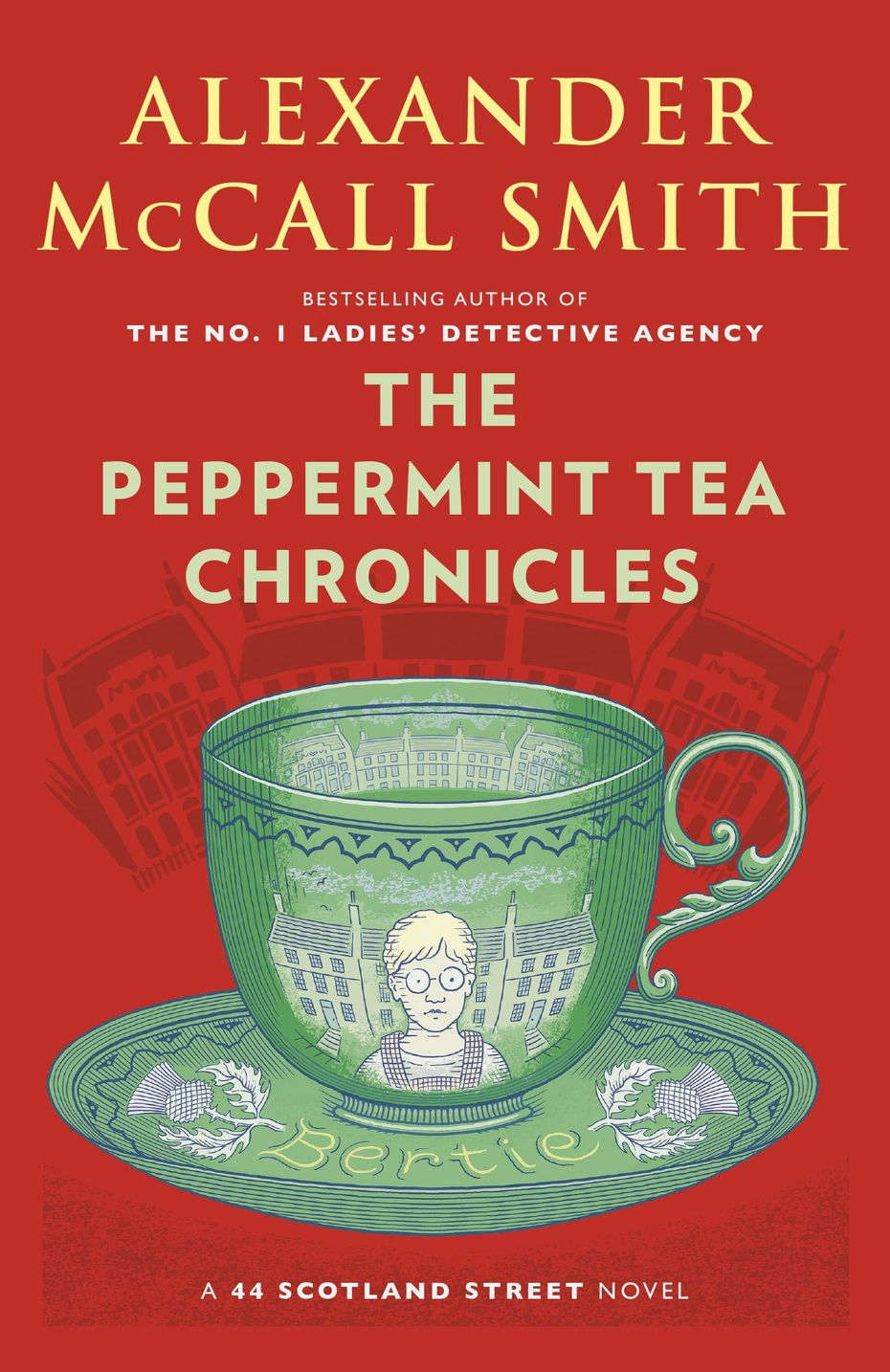 """The Peppermint Tea Chronicles"" is the fourth novel of the year for prolific writer Alexander McCall Smith."