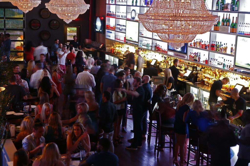 Opening night at The Eberhard restaurant and bar in Dallas Thursday July 9, 2015.