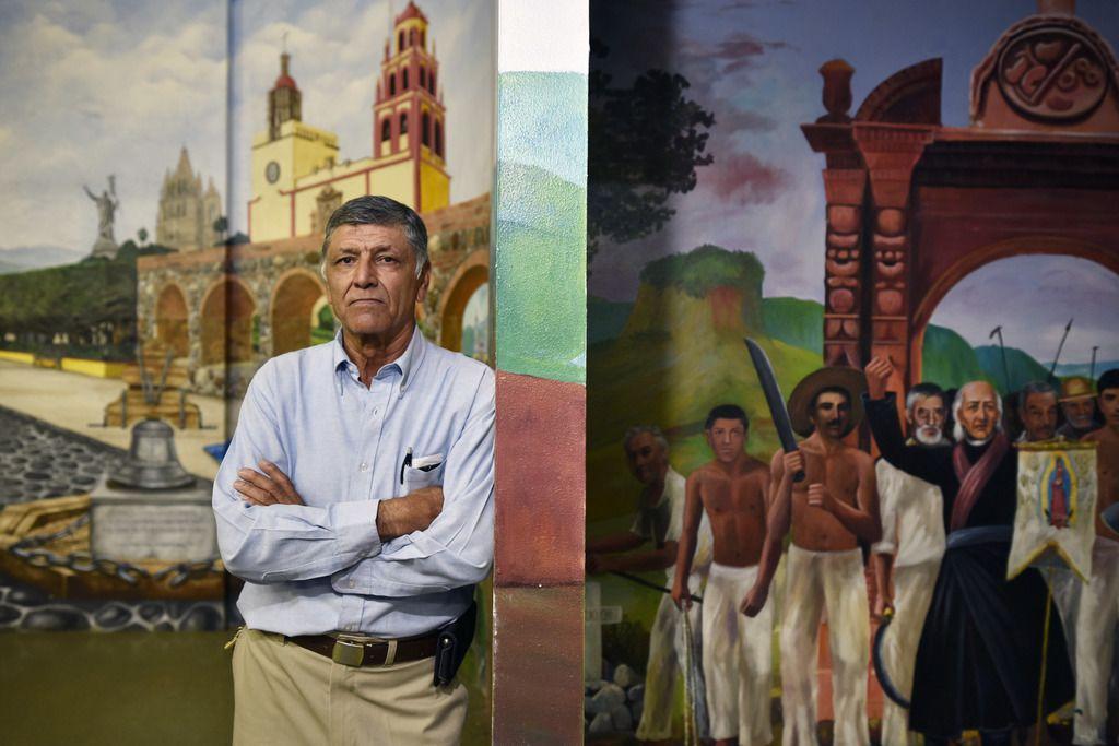Tereso Ortiz, fundador de Casa Guanajuato. El centro se ha convertido en un pulmón para la comunidad migrante en Dallas.