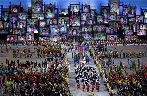 10,000 deportistas residen en la Villa Olímpica. Foto AP