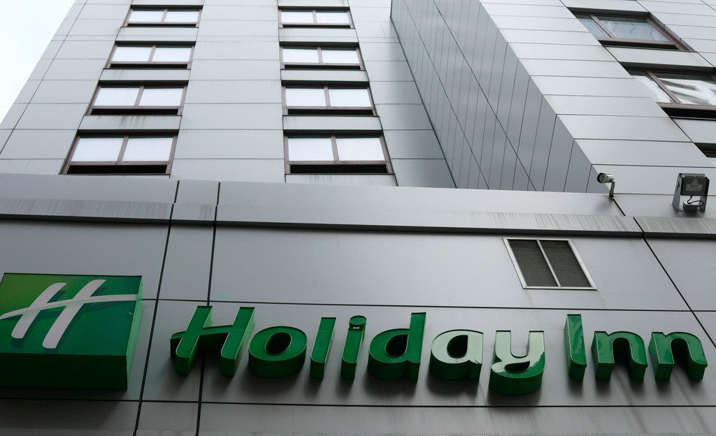 The fight to save the seas from plastic waste may mean the end for mini bottles of shampoo and other toiletries, after the owner of Holiday Inn and InterContinental Hotels announced Tuesday July 30, 2019, that it will switch to bulk-size bathroom amenities across the hotel group.