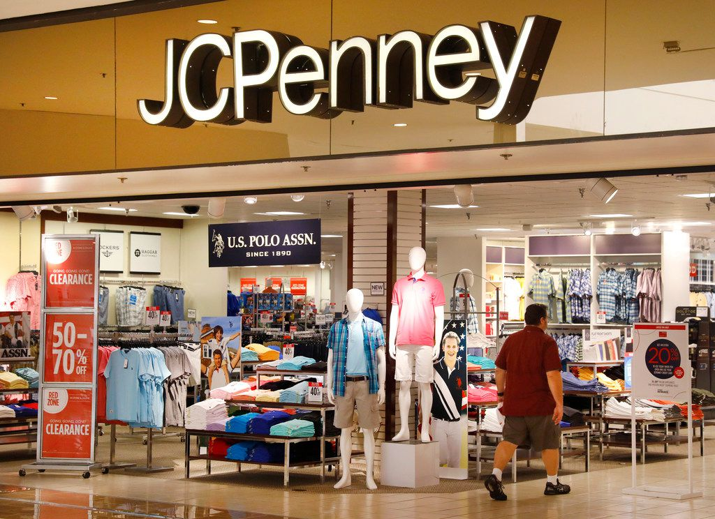 The J.C. Penney store at Collin Creek Mall in Plano, Texas, Thursday, March 1, 2018. (Tom Fox/The Dallas Morning News)