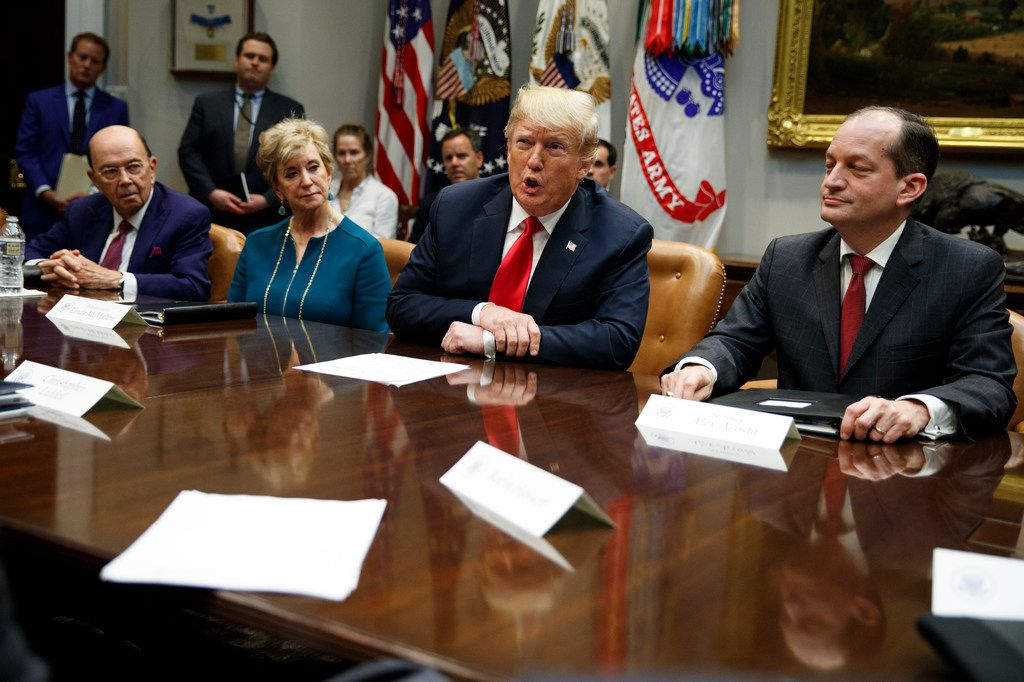 President Donald Trump on Monday finalized tariffs on $200 billion in goods imported from China, putting Texas businesses and consumers under further strain..(AP Photo/Evan Vucci)