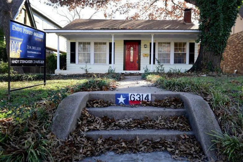 Median prices for starter homes in Dallas have gone up by almost 23 percent in the last year.