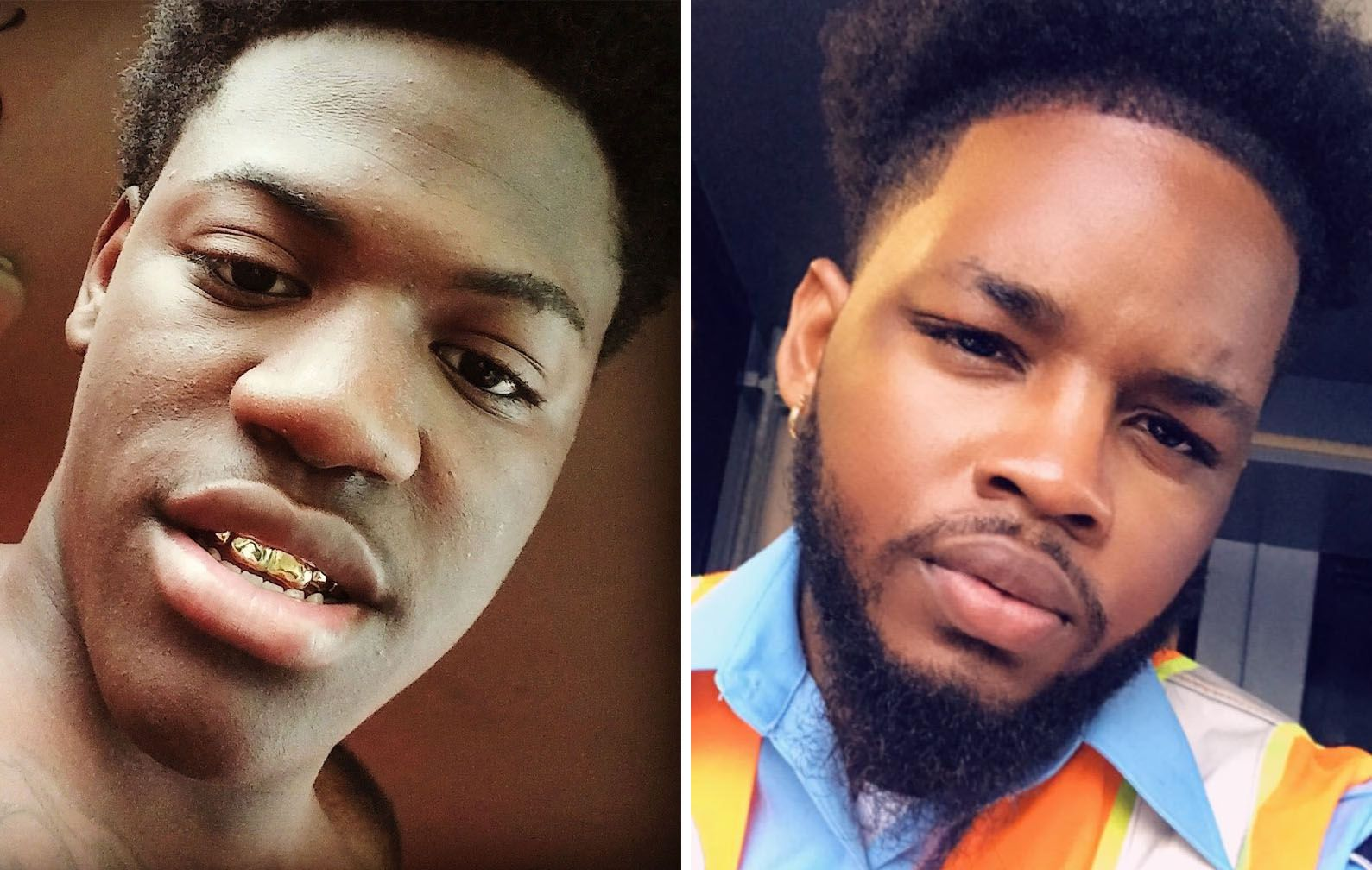 Kevin Berry Jr., (left), 23, of Dallas, whose nickname was Lil Wess, and Byron Craven, 23, of Arlington, were killed early Sunday morning, Oct. 27, 2019, when a gunman opened fire at a party just outside of Greenville, Texas.