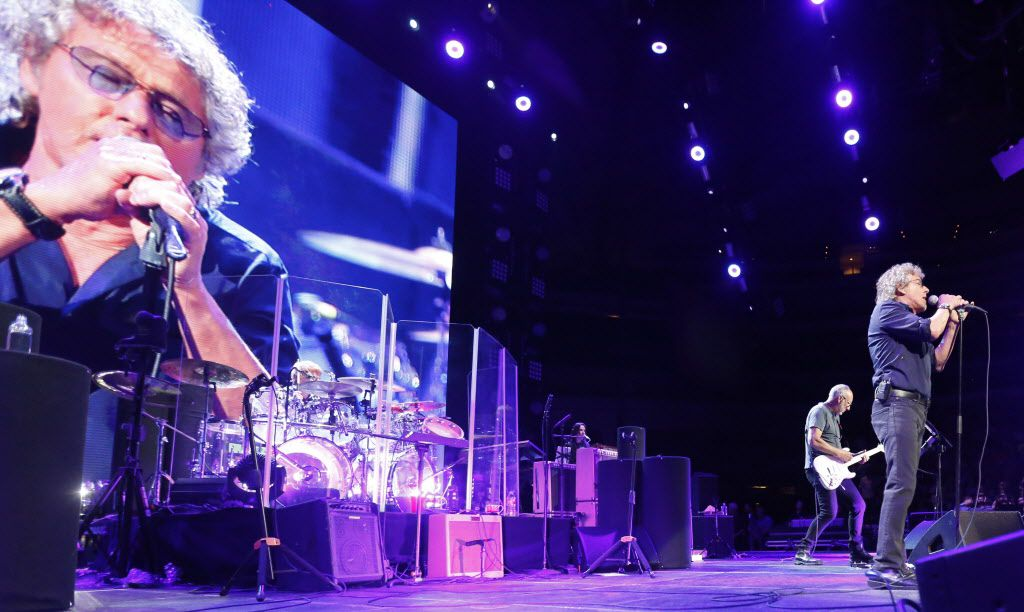 The Who on stage at American Airlines Center