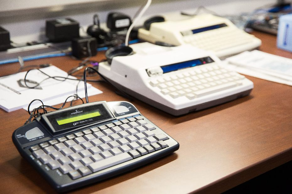 A teletypewriter or TTY device, invented in the 1960s, is a way that deaf people call 911. By end of year, AT&T will offer a new featured called real-time text to replace the devices.